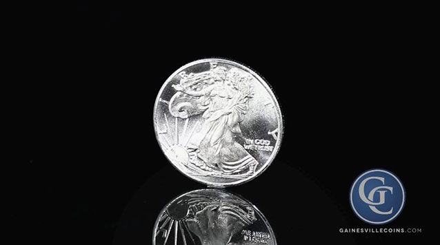 1 oz Silver Round Walking Liberty Design