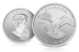 Canadian Birds of Prey Coins