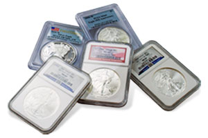ASE Graded Coins