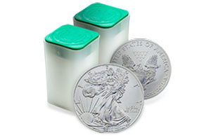 American Silver Eagles Roll