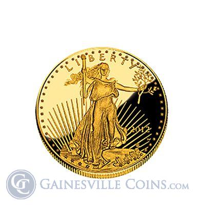 1 oz Proof Gold American Eagle (Random Year, Capsule only)