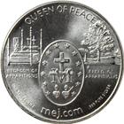 1 oz Medjugorje Silver Round - Miraculous Medal (.999 Pure)