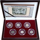 The Good Emperors Of Ancient Rome - Set Of 6 Silver Coins