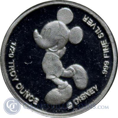 Walt Disney Mickey Mouse 1/20 oz Silver - Rarities Mint (.999 Pure)