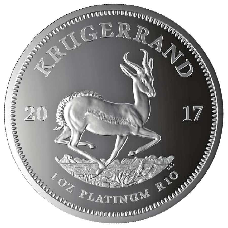2017 platinum krugerrand