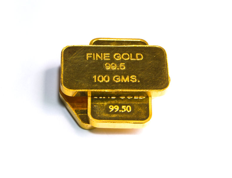 100 gram gold bars
