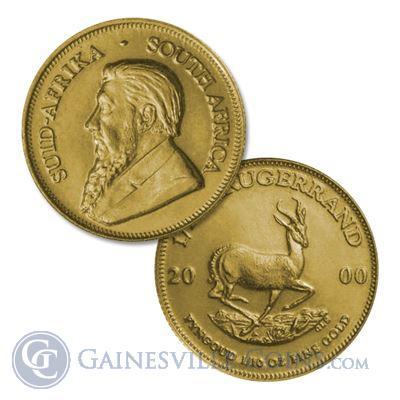 1/10 oz Gold Krugerrands