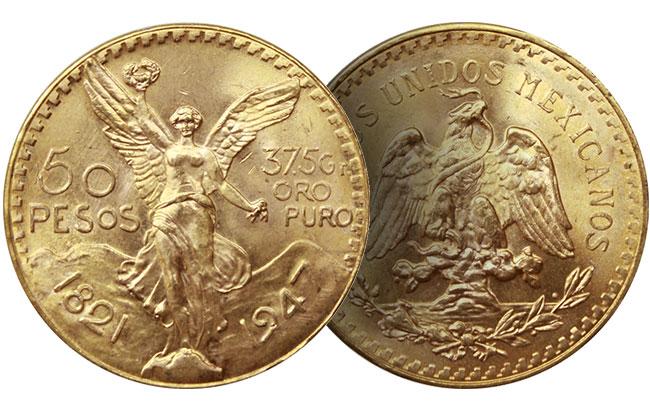 mexican gold peso