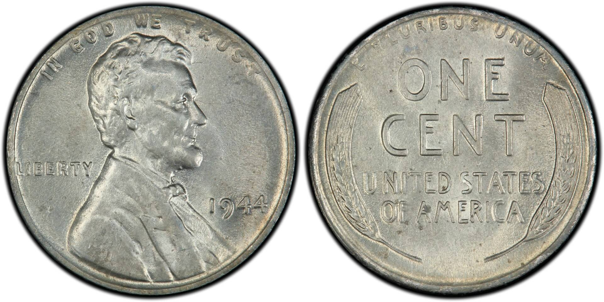 1-1943-P Lincoln Steel Wheat Cent Penny 1 penny #02