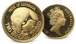 Pride Of Australia Gold Coins